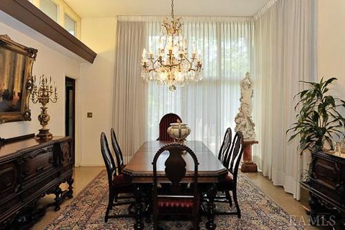 1960 dining room
