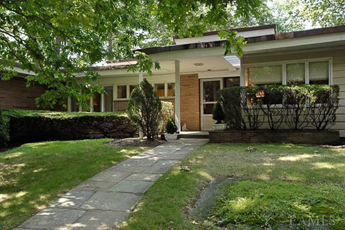 Mid century modern house scarsdale new york 1960 time capsule