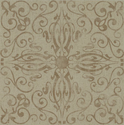 Patterned 1970s Style Vinyl Flooring From Armstrong Cork And Linoleum Looks Too Retro