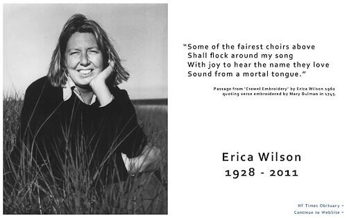 Erica Wilson tribute
