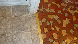 newer tile next to original tile