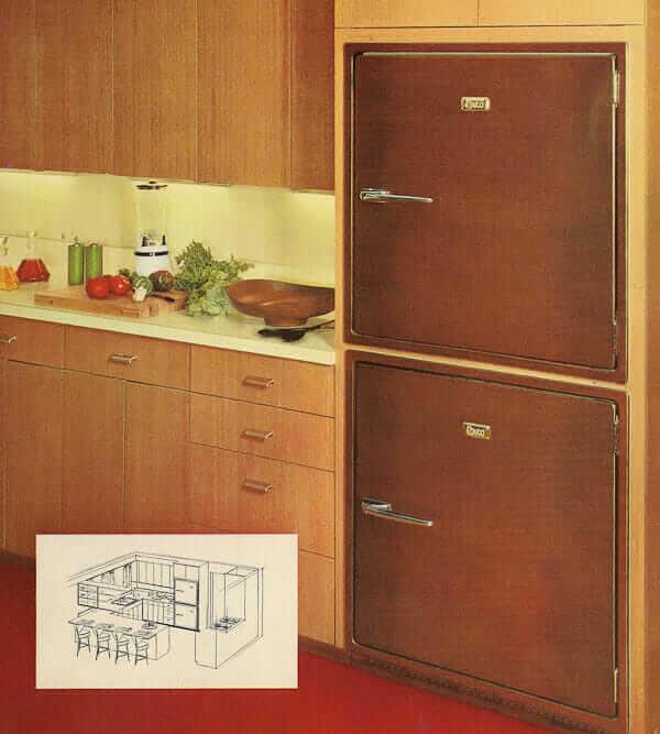 Revco Bilt-In refrigerator