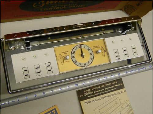 Nos Sunbeam Kitchen Appliance Automatic Control Panel 4