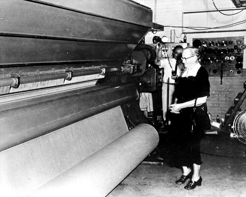carpet manufacturing history Catherine machine