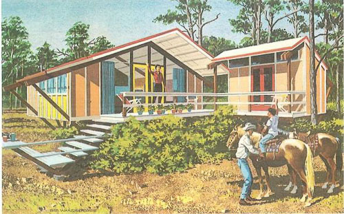 1960 vacation house