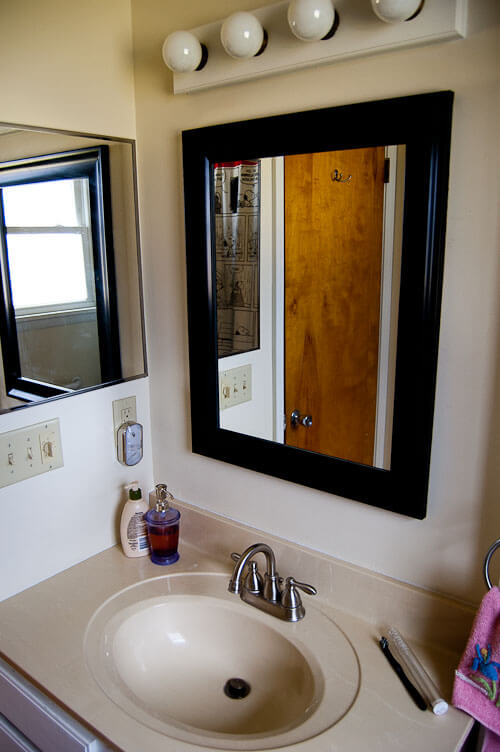 Steps To Remodel Bathroom small bathroom remodel in 5 steps - retro renovation