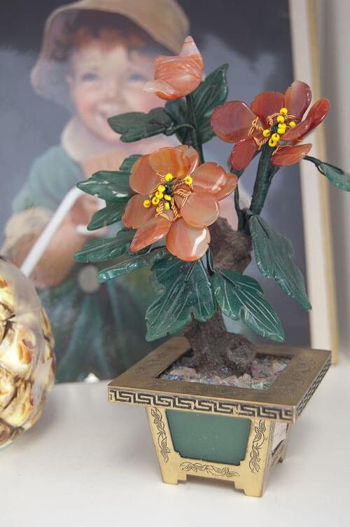 vintage oriental flowers