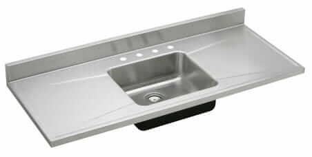 Elkay Lustertone stainless steel sink top