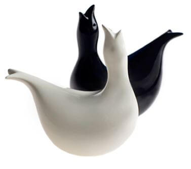 Eva Zeisel salt and pepper shakers from Eva Zeisel Originals