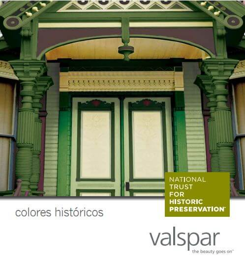 20 Historic Paint Color Collections - from colonial to 20th century ...