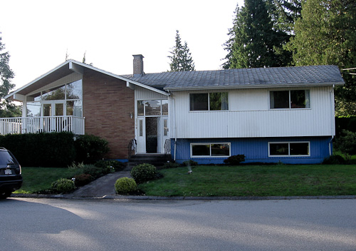 1961 raised ranch in Vancouver