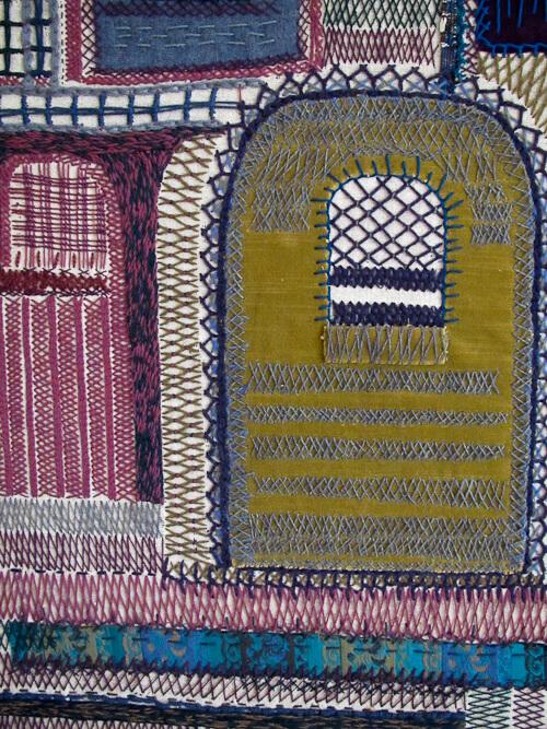 cobalt blue textile