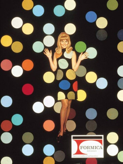 1960s Formica Girl ad