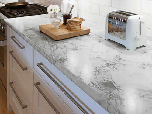 choosing countertops countertop formica squareedge marble real over