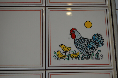 kitchen backsplash chicken