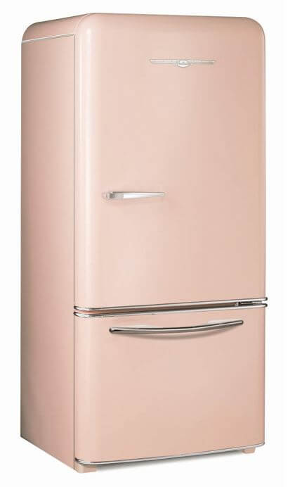 Vintage looking refrigerators - Retro Refrigerators 7 Places To Get Them In Pink And Other Colors