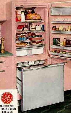 Retro refrigerators - 7 places to get them in pink (and other colors
