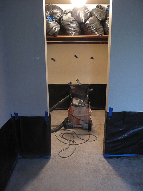Sanded Concrete Flooring : Polished concrete floors for troy s eichler house new