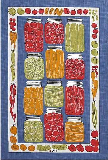 vintage vera neumann dish towels