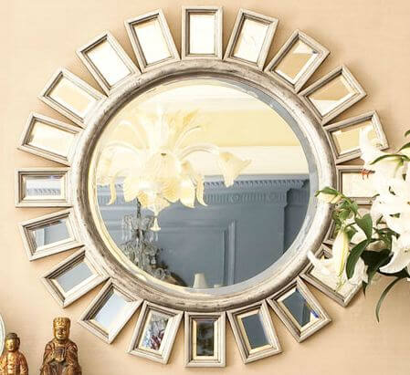 7 super size sunburst mirrors big statement pieces for for Stores like horchow