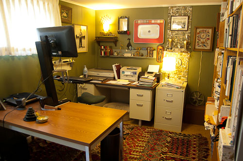 Delightful Home Office Design