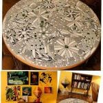 how to make a mosaic tile table