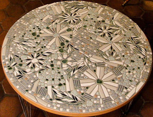 Julie Makes A Mosaic Tile Table From Our 1960s Ebay