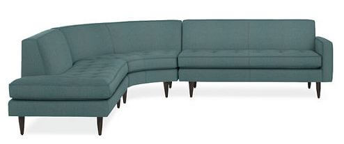 ... rather than inidual sectionals. Room ...  sc 1 st  Retro Renovation : round sectional sofa leather - Sectionals, Sofas & Couches
