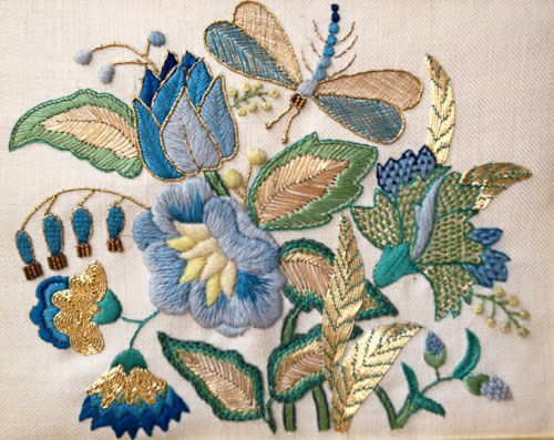 How to design my bathroom - Erica Wilson Needlework From Her Private Collection