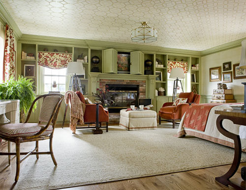 Help What Color Should We Paint Our Living Room: Benjamin Moore Rosemary Sprig #2144-30