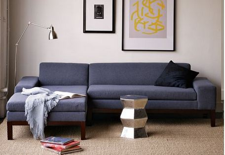 West Elm. 30 Stylish Sofa Sectionals Available Today Retro Renovation