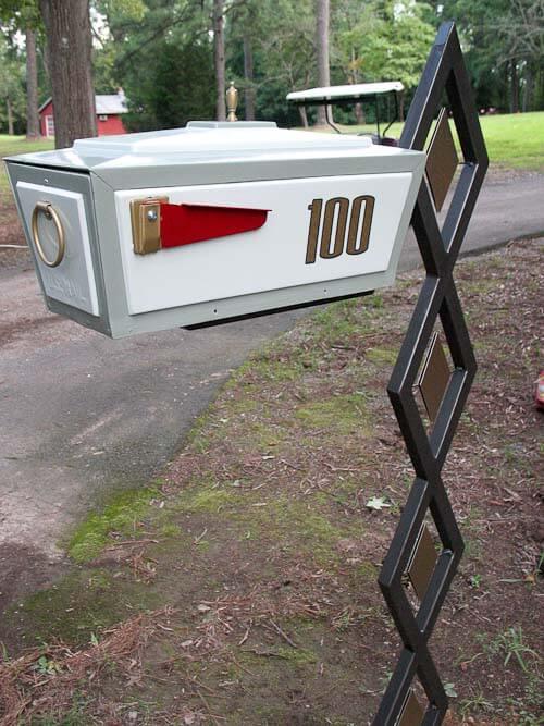 midcentury modern mailbox