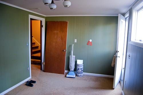 empty room before redecorating