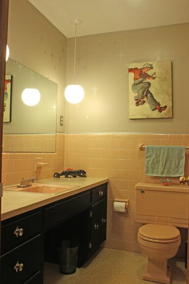 Elegant The Pink Bathroom