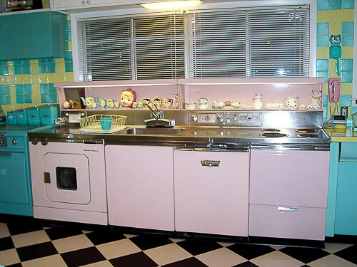 ge wonder kitchen in pink