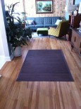 Recessed storage… two office remodels… refinished wood floors… high gloss VCT… and Pam and the Pug