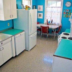 retro renovation kitchen design