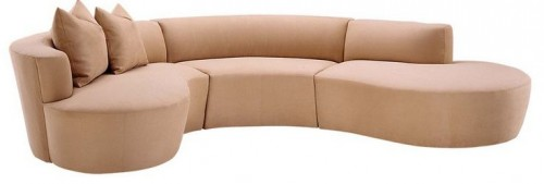 Lazar ...  sc 1 st  Retro Renovation : semi circle sectional sofa - Sectionals, Sofas & Couches