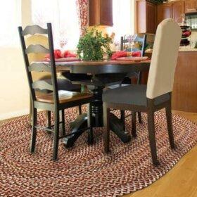braided rugs from thorndike mills