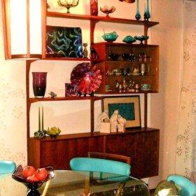 vintage cado wall unit