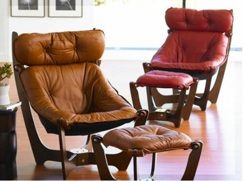 Luna Chairs Affordable Authentic Funky 1970 Interior