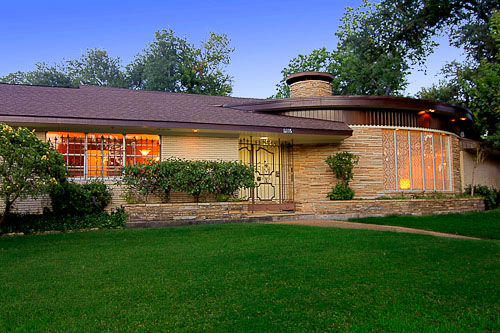Swankienda indeed 1957 time capsule house in historic for Mid century modern ranch house plans