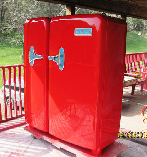 kelvintator foodarama refrigerator
