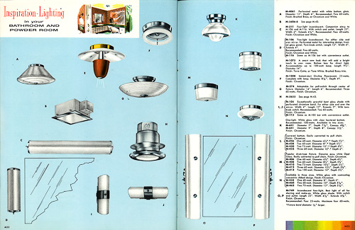 vintage moe lighting catalog