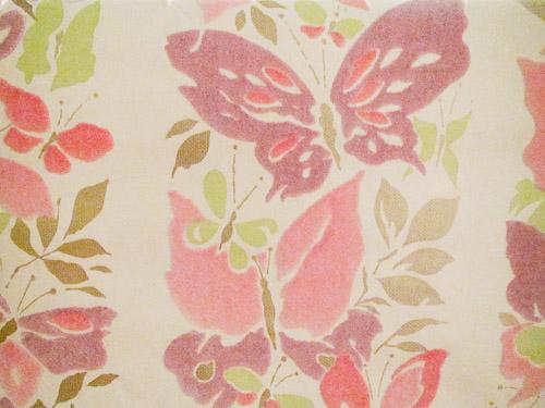 flocked wallpaper