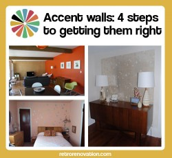 Accent walls: 4 steps to getting them right