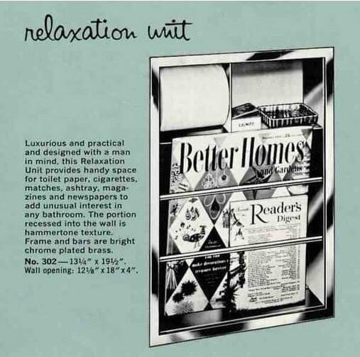 1962 hall mack relaxation unit
