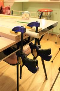 clamp setup