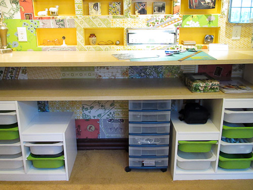 Affordable craft room ideas using ikea kids storage and Small room storage ideas ikea