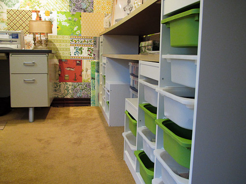 ikea trofast for craft room storage